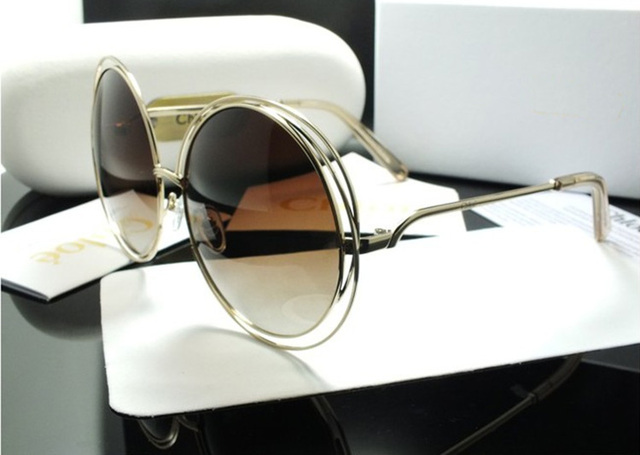 1e72fcd55dcb Brand Fashion Sunglasses Women Luxury Super Light Roung Frame UV400 Sun  glasses Female 2017 High Quality
