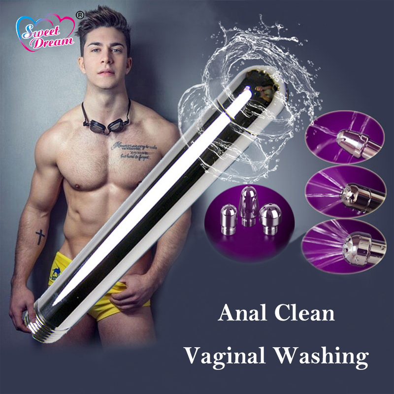 Sweet Dream Enemator Vaginal Washing Anal Clean Enema Bidet Small Shower Head Unisex Private Parts Sex Toys Sex Products BLM-097