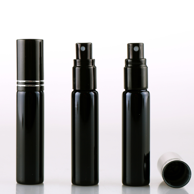 30PCS/LOT 10ML Refillable Portable Mini perfume bottle &Traveler Aluminum Spray Atomizer Empty Parfum Bottle as a Gift