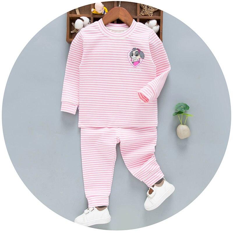Winter Kids Designer Clothes for Boys Girls Childrens Pyjamas Cute Kids Pajamas Sets Cotton Kids Apparel Girls pjs