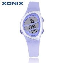 ¡ Caliente!!! Moda XONIX Deportes de Las Mujeres Relojes Señoras Reloj Digital de La Jalea de Natación de Buceo Impermeable 50 m Mano Reloj Montre Femme BQ