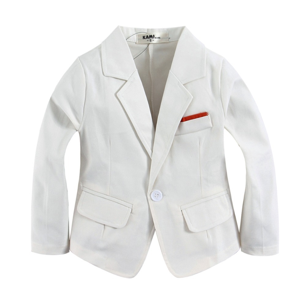new arrival tkana bawełna 100% Toddler boy blazer BJ01