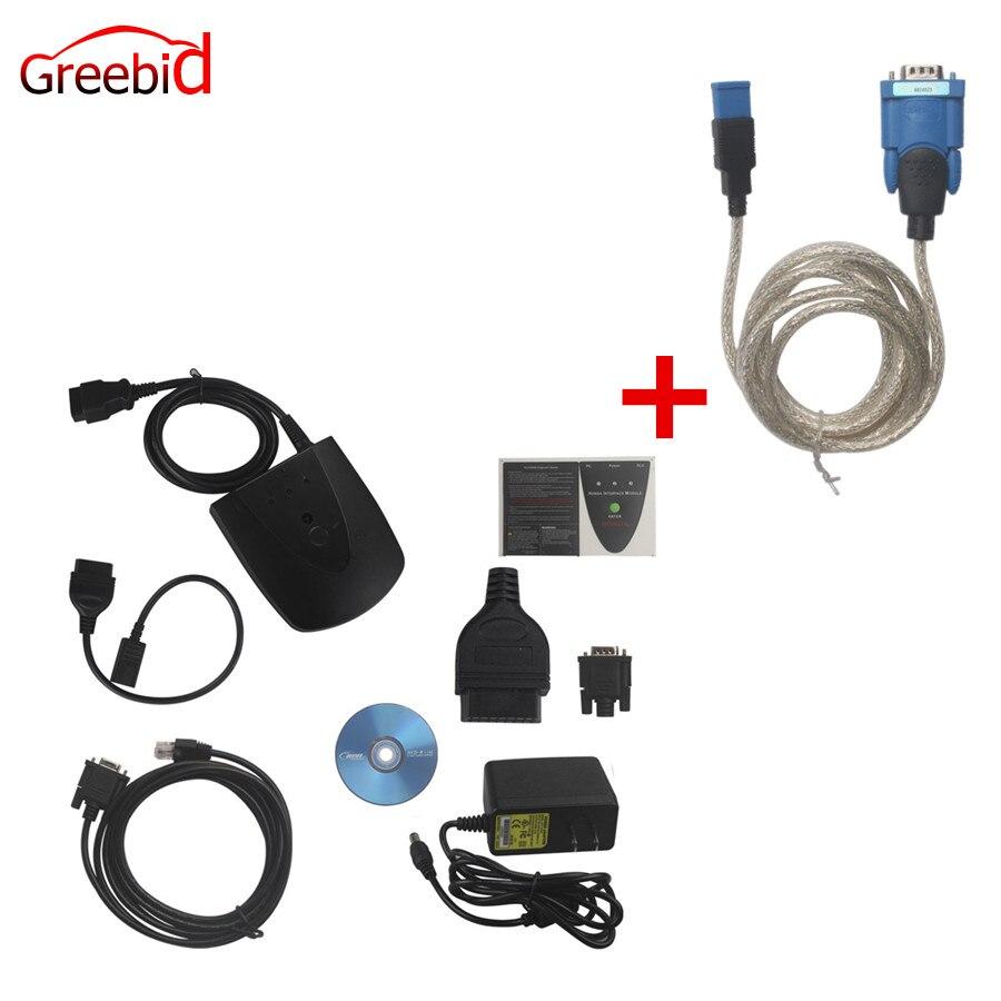 Kaufen Neue V3.102.004 Für Honda HDS IHN Diagnose-Tool mit Doppel Bord HDS IHN mit Z-TEK USB1.1 Zu RS232 Konvertieren stecker