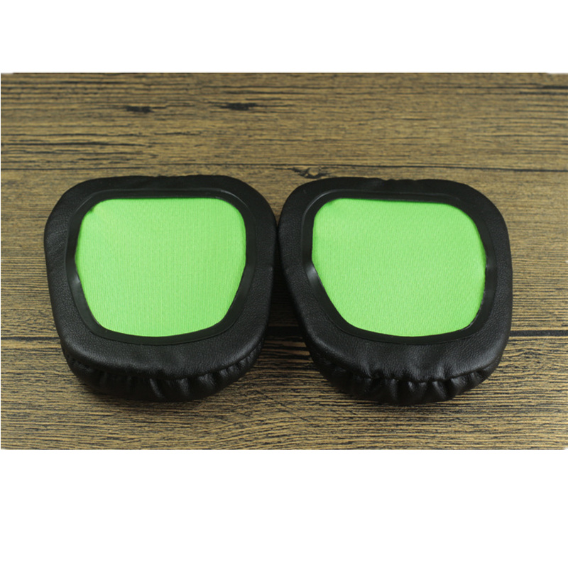 Foam Ear Pads Cushions for Razer Electra Headphones High Quality Black Green 12.19 (4)