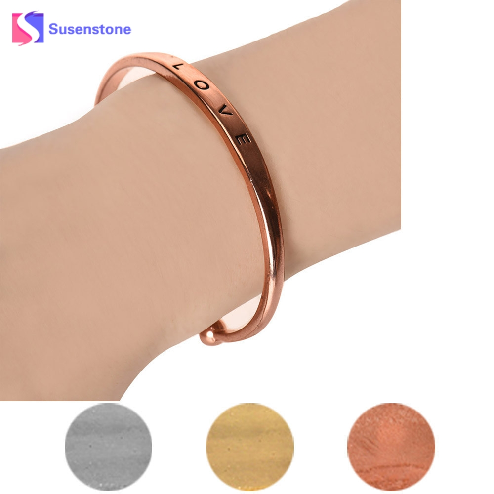 Bracelets&Bangles Top Quality Fashion Lady Gold/Rose Gold/Silver Color Carter Bracelet Bangles Metal Jewelry For Women