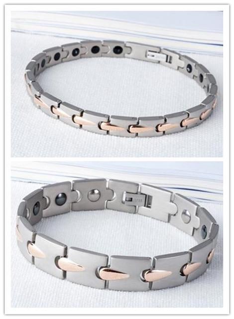 176d385757352 2016 mode bracelet paire magnétique santé femme et homme couple germanium  bio bilan énergétique de puissance