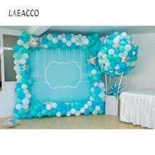 Laeacco Photo Backdrops Balloons Birthday Party Wedding Baby Portrait Backgrounds Photographic Backdrop Studio