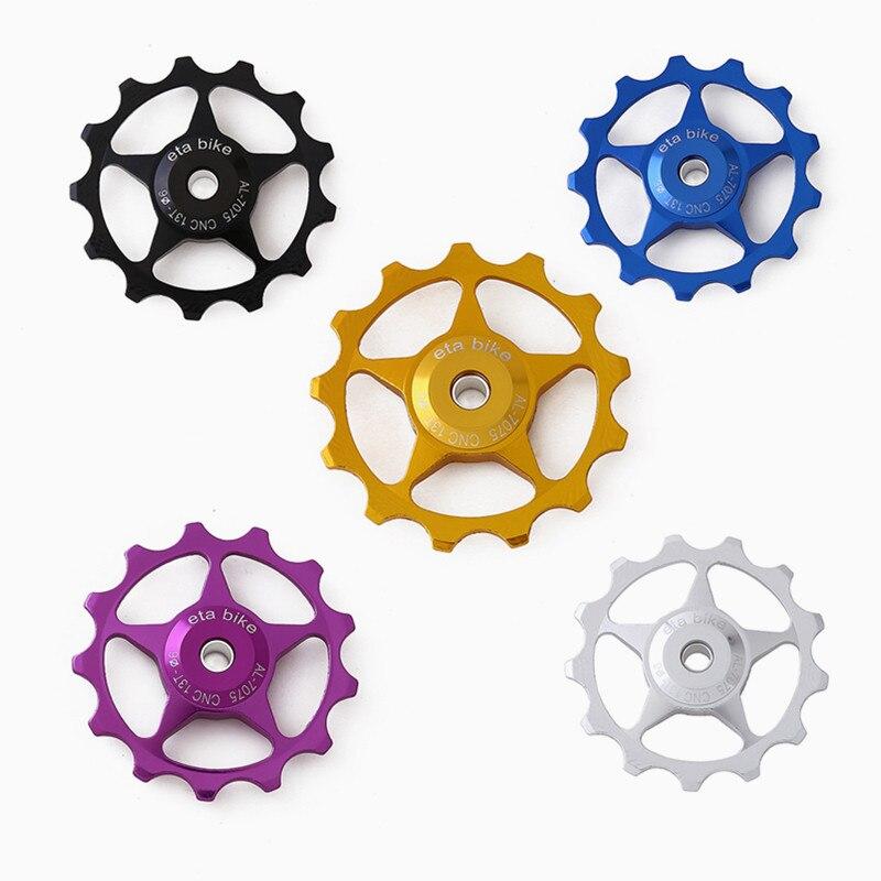 Mountain Bike Jockey Wheel Rear Derailleur Pulley 11T//13T For SHIMANO SRAM Cycle