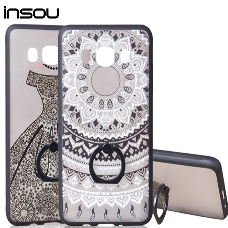 Dream Catcher Silicone phone cover case for <font><b>Samsung</b></font> Galaxy J3 J5 A3 A5 <font><b>2016</b></font> case S7 edge J5 A310 A510 <font><b>J510</b></font> Ring Holder Stand image