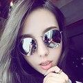 Óculos de Sol novos das mulheres designer de marca do vintage retro rodada óculos de Sol Óculos gafas oculos originais 3447 óculos