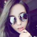 New Sunglasses women brand designer vintage retro round Sun Glasses gafas original oculos 3447 glasses