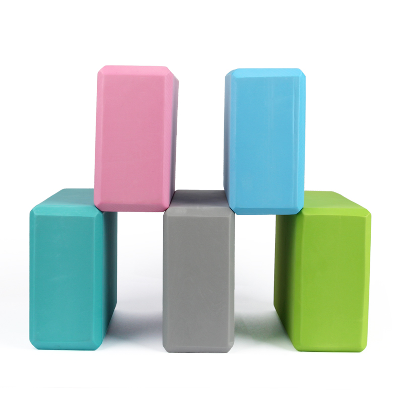 9 Colors Pilates EVA Yoga Brick Block Sports Gym Foam Workout Stretching Body Sculpting Health Training For Women