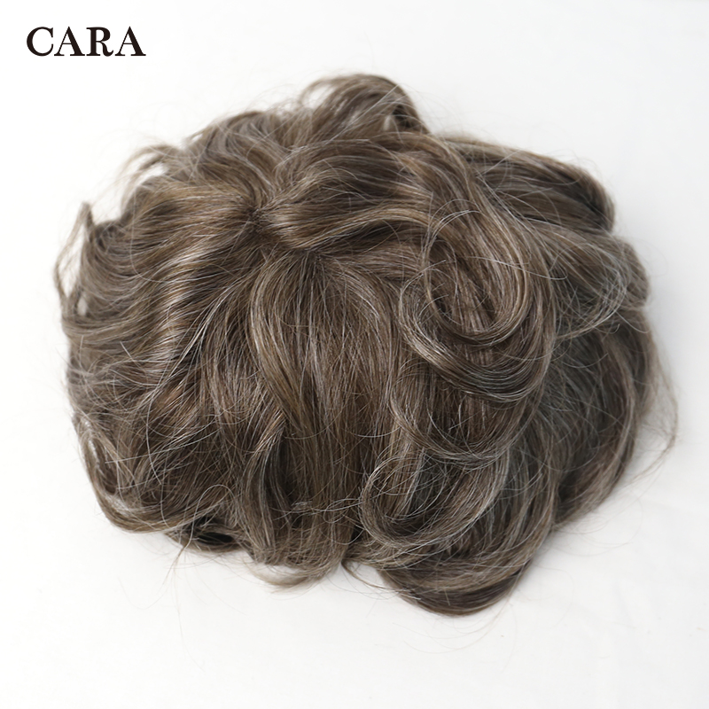 Men Hair Toupee Swiss Lace Front Center Poly Perimeter Hair Replacement System Lace & PU Toupee Men Brazilian Remy Human Hair