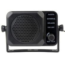 Mini External Speaker NSP-150V ham For Motorola ICOM Yaesu Baofeng TYT Walkie Talkie Mobile Radio