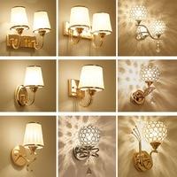Modern Simple Wall Sconce Wall Lamp 110V 220V LED Bed Lamp Luminaria Wall Lighting E27 Contemporary Bedside Lamp Luminaria