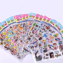 Random 30 sheets/set cute Cartoon stickers for kids toys mini 3D Anime stickers on laptop decal fridge skateboard doodle gift