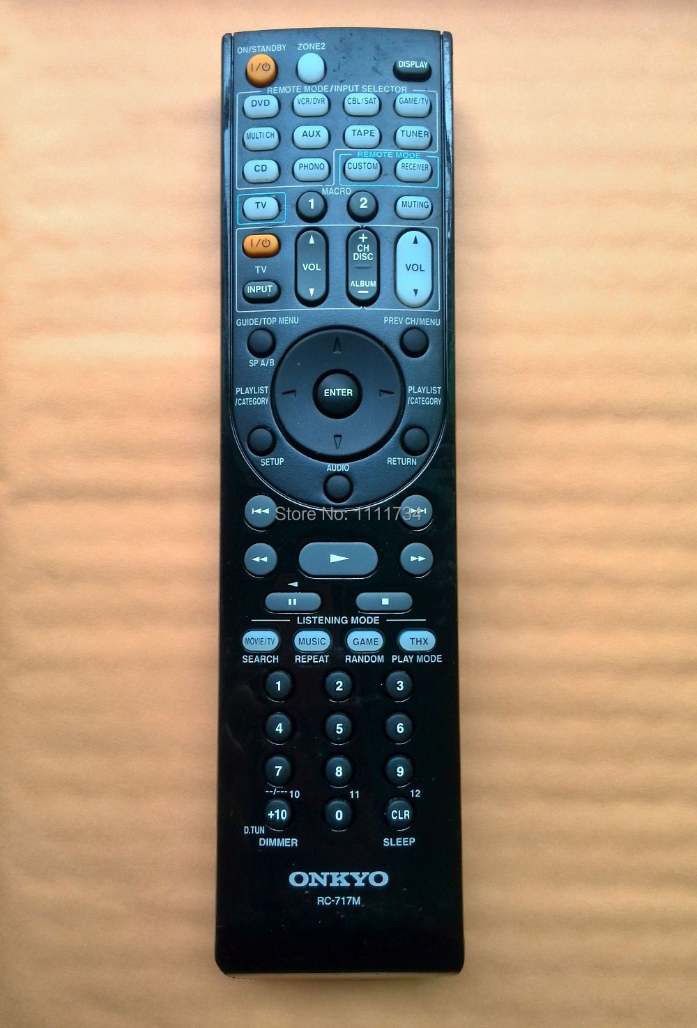 RC 799M Replaced Remote Control For Onkyo HT R391 HT R558 HT