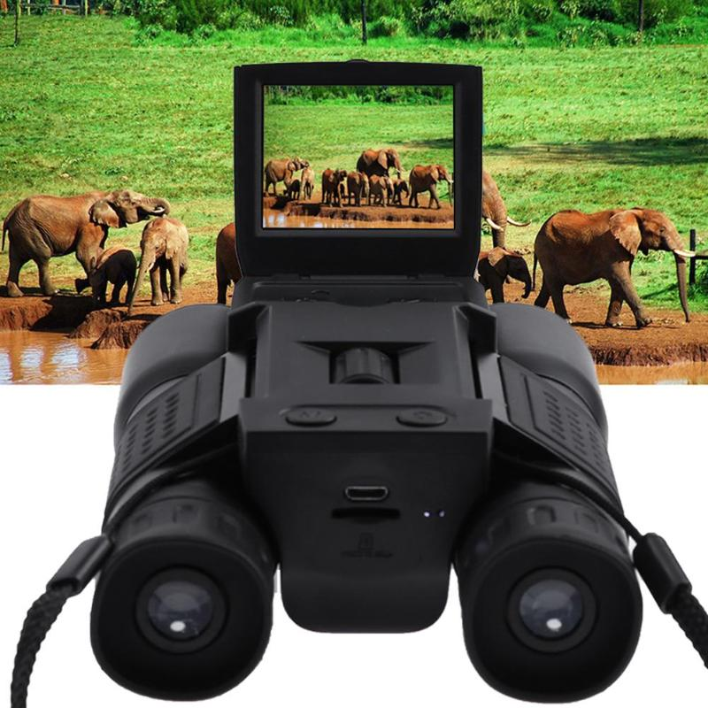 2 LCD Screen USB Digital Binocular Telescope TFT HD 720P 96m/1000m Zoom Telescopio DVR Binoculars Photo Camera Video Recording 2 lcd screen cmos hd 720p usb digital binocular telescope 96m 1000m zoom telescopio dvr binoculars photo camera video recording