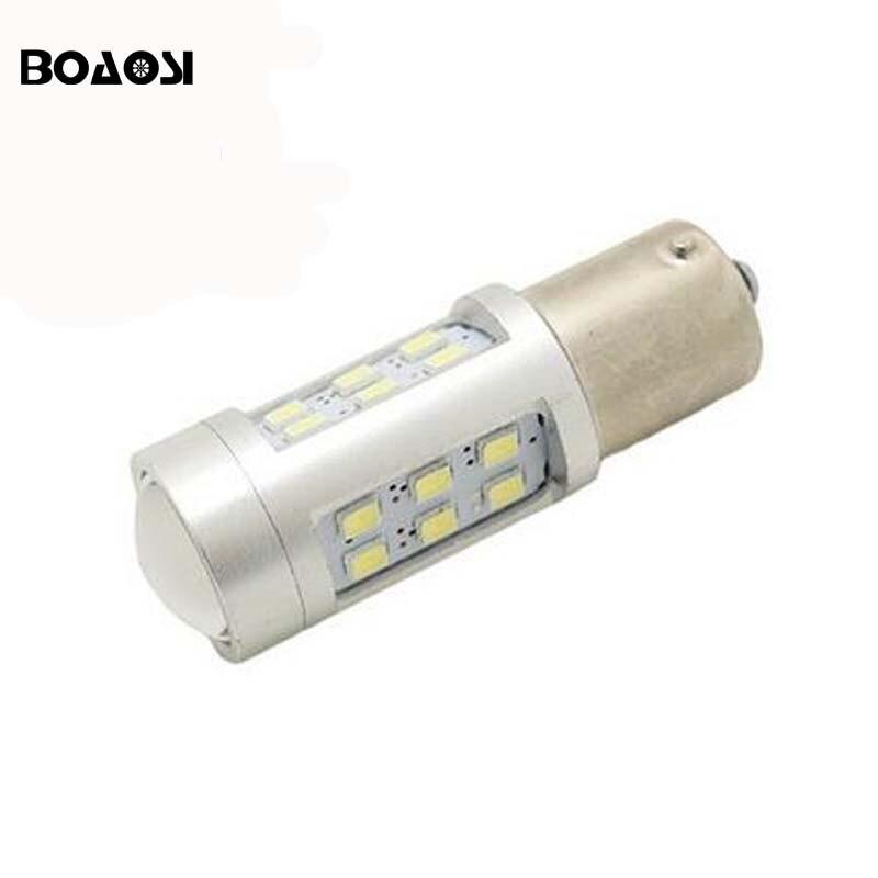 4pcs No error P21W BA15S 1156 Canbus 21 LED Bulbs 2835 SMD Rear turn signal light Reversing Light car Light Sourcing 10pcs car 1156 ba15s t25 t20 canbus led 5050 26smd no error turn brake signal led light bulbs fd 4697