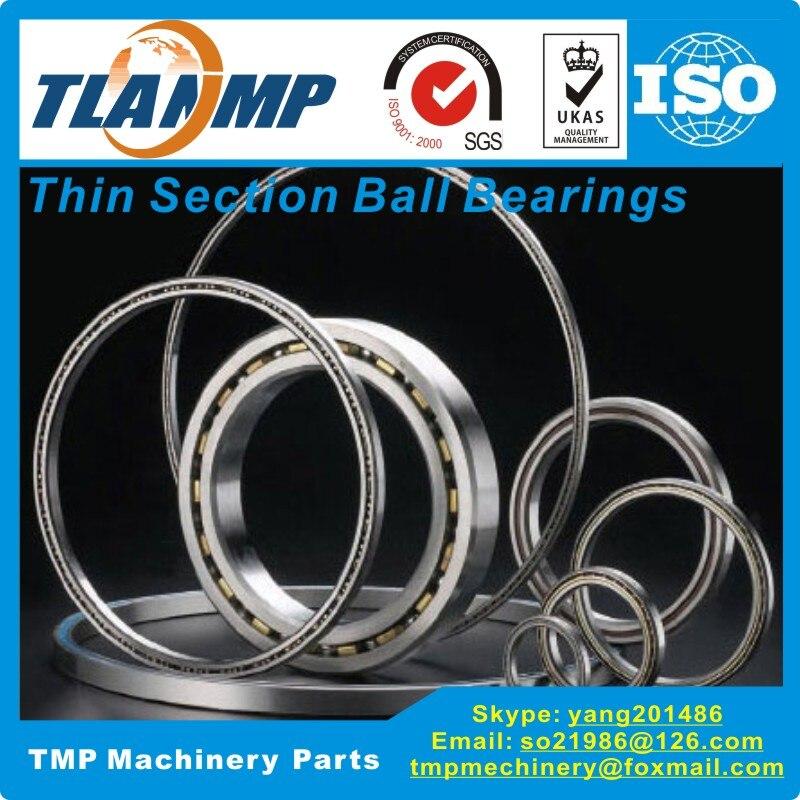 KC047AR0/KC047CP0/KC047XP0 Thin Section Ball Bearings (4.75x5.5x0.375 In)(120.65x139.7x9.525 Mm)  TLANMP Robotic Bearings
