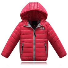 Girls ' outerwear Children Down Jacket