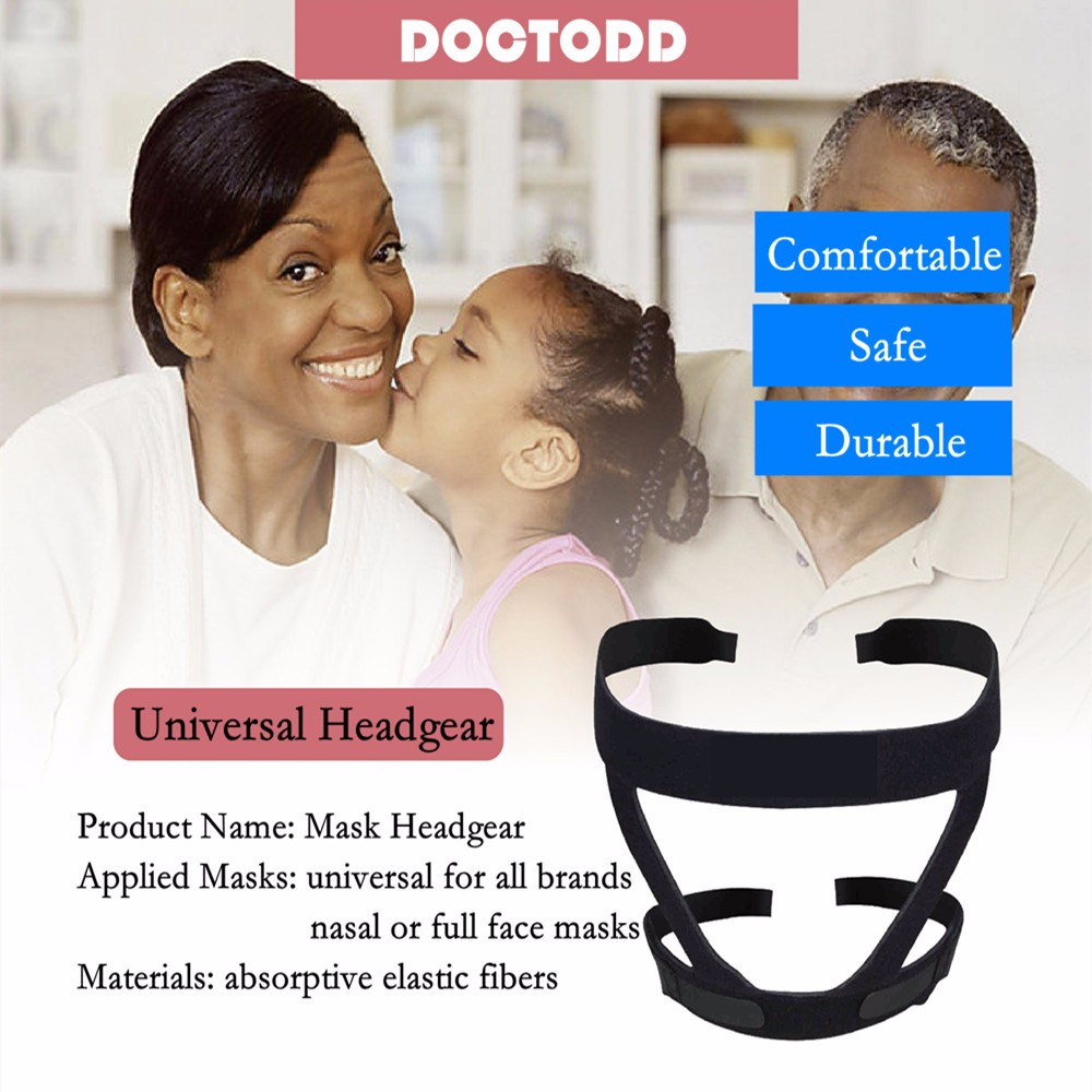 Headgear for Nasal Mask and Full Face Mask (3)