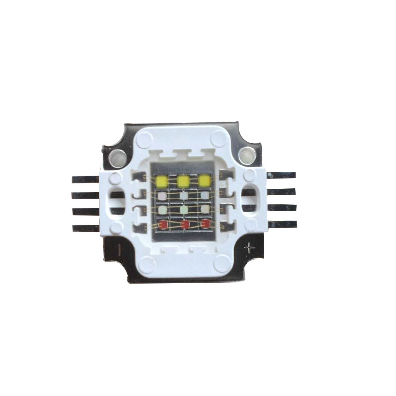 10X New arrival 12W RGBW LED light source high power RGBW led lamp beads free shipping