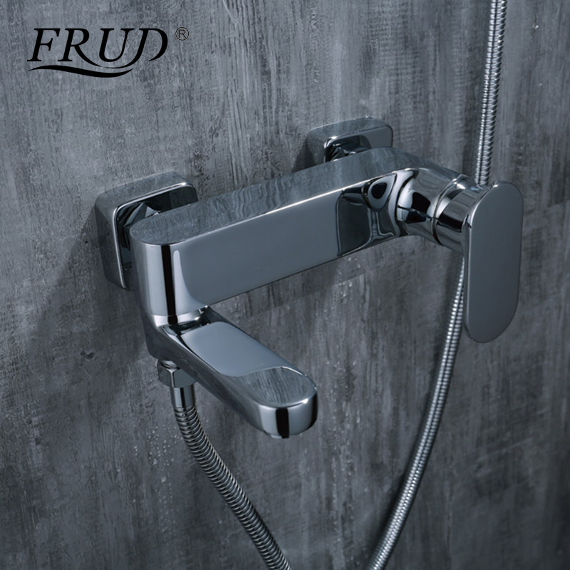 FRUD Constant Temperature Faucet Mix Water Valve Full Copper The Thermostatic Shower Faucet Bath & Shower Faucet Switch Y30003 ramones chest logo