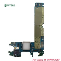For Samsung Galaxy S6 G920i G920F Unlocked Original Main Motherboard Clean Imei 32GB Testing Good