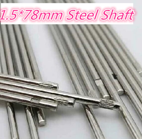 10pcs K222B 1.5*78MM DIY Cars Steel Shaft Axis Model Embossing Metal Connecting Rod Sell At A Loss USA Belarus Ukraine diy metal clevis w hollow shaft