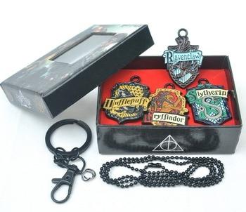 Набор кулонов из 4 штук Гарри Поттер