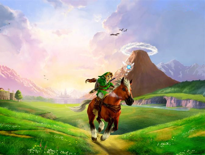 diamond painting Cartoon The Legend Of Zelda Breath Of The Wild Wall Art Picture Art Print Painting landschap Home Wall Decor