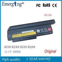 9 ячеек 94wh ноутбук Батарея для lenovo Thinkpad X220I X220 X220S X230 X230I 0A36307 42T4940 0A36281