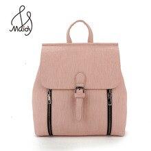 Мода небольшой рюкзак Для женщин кожаный рюкзак школьный Для женщин Сумки Mochila Школьные сумки для подростков Повседневное Колледж Обувь для девочек розовый