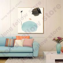 Japan Nordic Modern Simple Abstract Wall Art Canvas Print Artwork Painting for Lobby Hallway Office Home Decor Dropship Retail low price modern nordic fabric home lobby wooden sofa set design for space saving apartment japan style