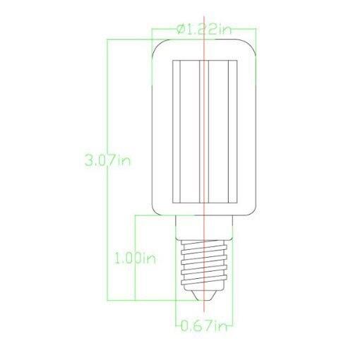 Купить с кэшбэком 4pcs/lot 6W E14 30 LED 5050 SMD Ampoule Lampe Spot Bulb MBlanc Chaud AC 220-240V
