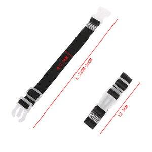 Image 5 - רצועות מטען מתכוונן ניילון מזוודות אביזרי תליית אבזם רצועות מזוודה תיק רצועות צבעוני עניבת למטה חגורת מטען