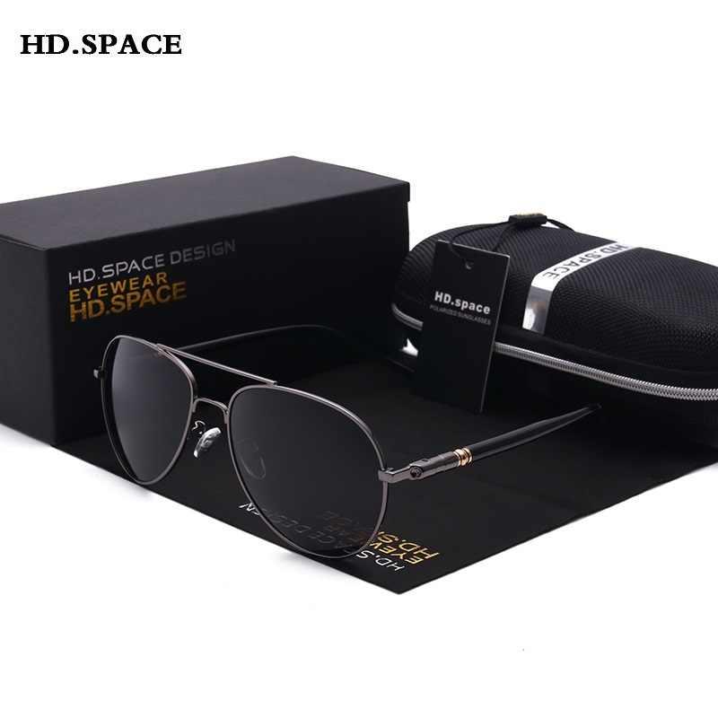 نظارات شمسية مستقطبة كلاسيكية للرجال طراز كلاسيكي نظارة شمسية للسائق من العلامة التجارية الجديدة