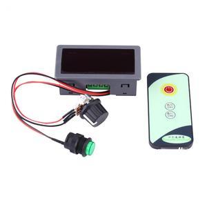 Image 3 - Silnika prądu stałego PWM Regulator prędkości 6V 12V 24V Regulator prędkości silnika cyfrowy wyświetlacz z IR pilot zdalnego sterowania