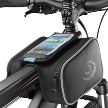 Roswheel Bicycle Bike Bag Head Top Front Frame Tube Saddle Bag Storage Cycling Phone Case Touch Screen PVC 5.5″ 5.7″ 6.0″M L
