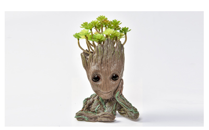 Baby Groot Flower Pot Suitable for Living Room Bed Room and study Room for Full Greenery in House 18