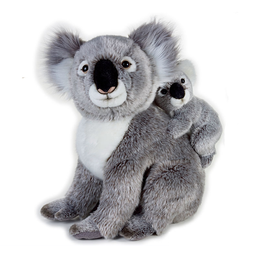 Stuffed Plush Simulation Toy Animal Doll Baby Kid Koala Soft Toy Schattige Knuffel Birthday Gift Bonecas Toys For Girls 70G0596 65cm plush giraffe toy stuffed animal toys doll cushion pillow kids baby friend birthday gift present home deco triver