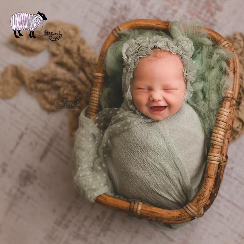 Newborn Baby Photography Retro Basket Props Infant bebe fotografia Accessories Baby Girl Boy Handmade Photo Shoot Rattan Basket newborn baby photo props accessories bear hat doll 2pcs sets infant bebe boy girl toy bonnet handmade
