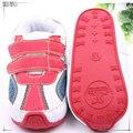 2017 полное отслеживание сообщение 0-2 года детские мальчик первые ходьбы обувь красный спортивный стиль детские prewalker кроссовки sapatos де bebe menino 549