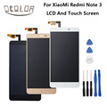 Para xiaomi redmi note 3 lcd display + touch screen reemplazo digitalizador asamblea pantalla 100% original para xiaomi redmi note 3