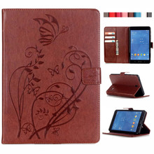 For Tab 4 7.0 T230 Pu Leather Case Stand Tablet Cover Case For Samsung Galaxy Tab 4 7.0 T230 T231 T235 Fundas Coque W/Card Slots стоимость