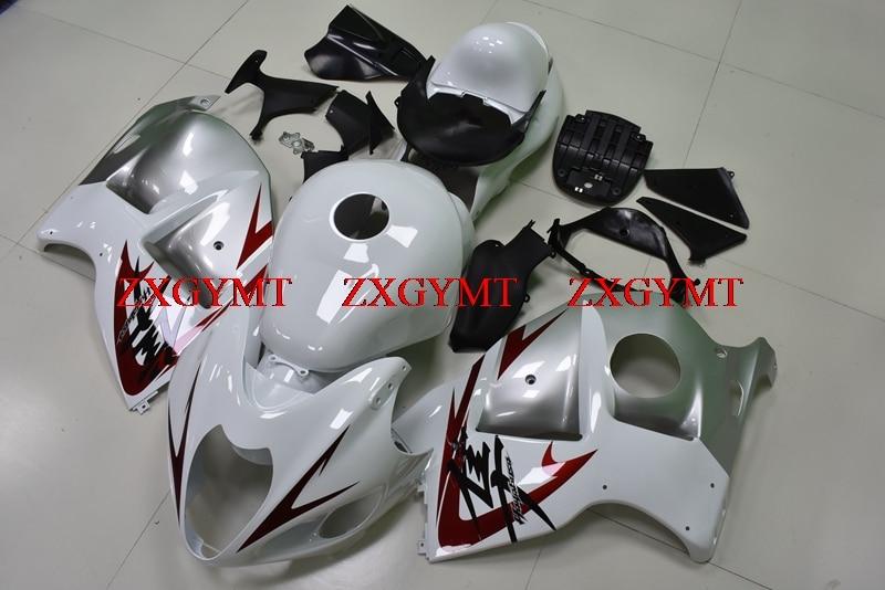 Body Kits for for Suzuki GSXR1300 1997 - 2007 Plastic Fairings GSX R1300 2003 White Silver  Plastic Fairings GSXR 1300 1999Body Kits for for Suzuki GSXR1300 1997 - 2007 Plastic Fairings GSX R1300 2003 White Silver  Plastic Fairings GSXR 1300 1999