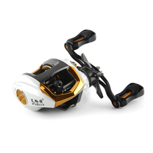 190g LP200 12+1BB Gear Ratio 6.3:1 Black Left&Right Hand Baitcasting Ice Fishing Reel Low Profile Baitcaster For Fishing Tackle