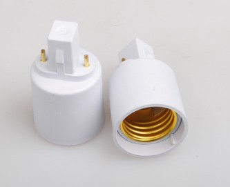 <font><b>G23</b></font> to E27 <font><b>socket</b></font> adapter CFL <font><b>g23</b></font> to e27 light bulb converter 100pcs/lot by DHL FREE SHIPPING image