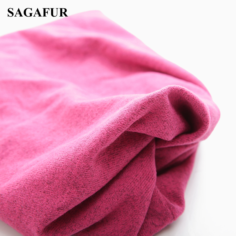 Multifunction Knitted Hat Women's Casual Plain Bonnet Cap Female Soft Polyester Baggy Beanies Spring Autumn Ponytail Beanies 4
